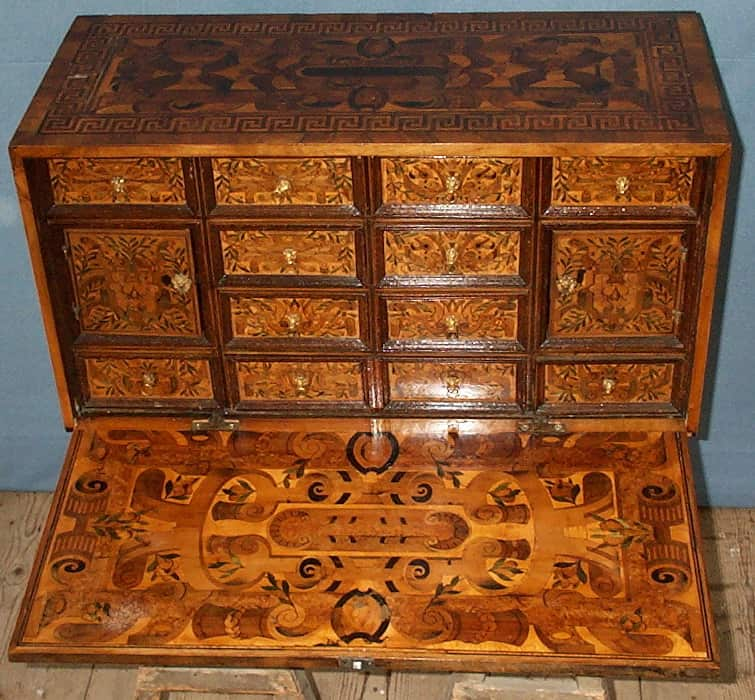Kabinettschrank um 1650